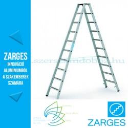 ZARGES Saferstep B két oldalon járható állólétra 2x10 fok