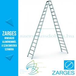 ZARGES Saferstep B két oldalon járható állólétra 2x16 fok
