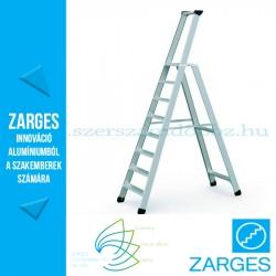 ZARGES Seventec S egy oldalon járható állólétra, 1x8 fok