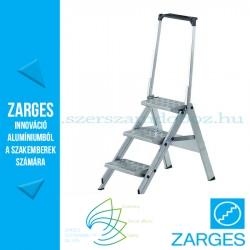 ZARGES Plazatec P fellépő biztonsági kengyellel 3 fok, 0,7m