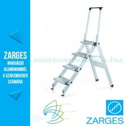 ZARGES Plazatec P fellépő biztonsági kengyellel 4 fok, 0,9m