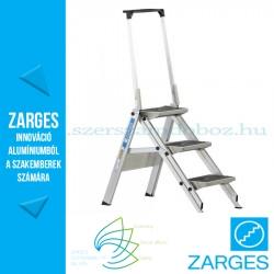 ZARGES Plazamax P fellépő biztonsági kengyellel,3 fokos, 0,7m