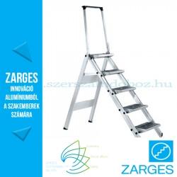 ZARGES Plazamax P fellépő biztonsági kengyellel, 5 fokos, 1,15m