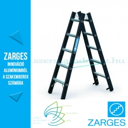 ZARGES Megastep B két oldalon járható létra 2x5 fok