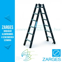 ZARGES Megastep B két oldalon járható létra 2x6 fok