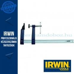 """IRWIN Pro """"F"""" szorító T-kulccsal – Szorítási mélység 140mm, Pro szorító L, 600mm"""