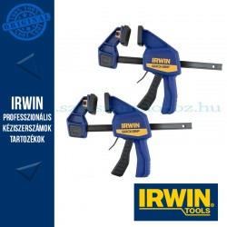 IRWIN Gyorsan cserélhető egykezes szorító, 6ʺ / 150mm dupla csomag