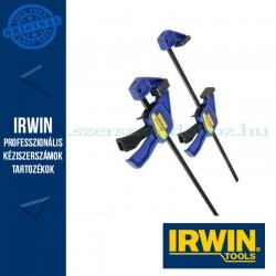 """IRWIN Mini  egykezes szorító, 12""""/300mm dupla csomag"""