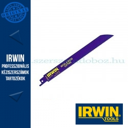 IRWIN 810R 200 mm 10TPI, fém- és favágó orrfűrészlap 25db