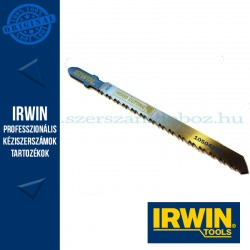 IRWIN HCS, 100 mm, 10 TPI, T101BR, oldalán köszörült hátlap, favágó dekopírfűrészlap