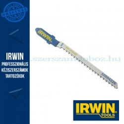 IRWIN HCS, 83 mm, 20 TPI, T101AO, oldalán köszörült keskeny kontúr, favágó dekopírfűrészlap