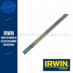 IRWIN HCS, 100 mm, 6 TPI, U101D, oldalán köszörült, fafűrészeléshez dekopírfűrészlap