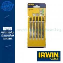 IRWIN HCS, 115 mm, progresszív 8-13TPI, U234X, oldalán köszörült, fafűrészeléshez dekopírfűrészlap