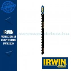 IRWIN T141HM Karbidcsúcsú dekopírfűrészlap, 100 mm, 6TPI, rostlemez és műanyag vágására