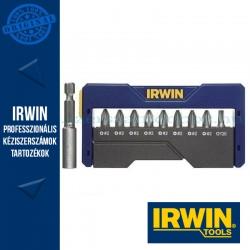 IRWIN Bit Szett 10-db. PH2/PZ2/T20 + Bittartó