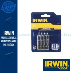 IRWIN Bit Szett 5-db. ütvecsavarozóhoz mágneses PZ/PH