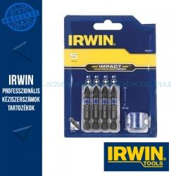 IRWIN Bit Szett 5-db. ütvecsavarozóhoz mágneses PH