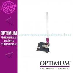 OPTIMUM PS 125 Karos lemezolló, 95mm munkahossz 3mm-es acéllemezhez