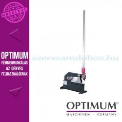 OPTIMUM PS 300 Karos lemezolló, 235mm munkahossz 4mm-es acéllemezhez