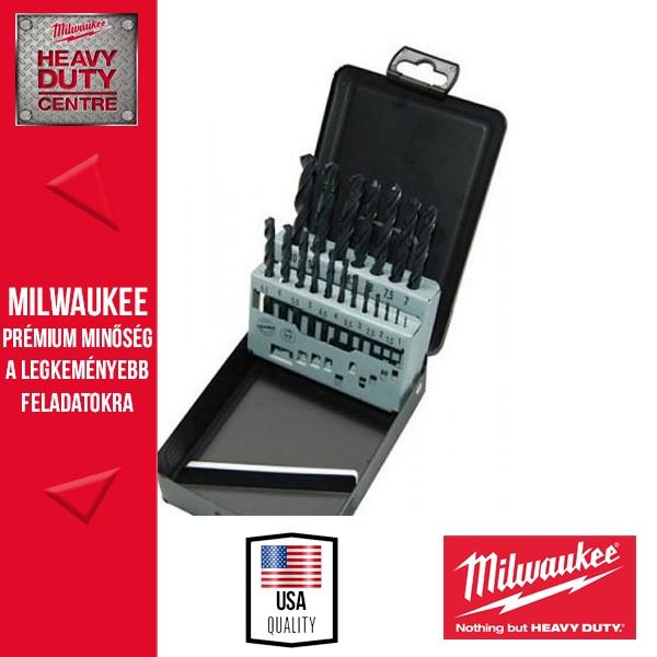 Milwaukee HSS-R DIN338 Fúrókészlet 19 db