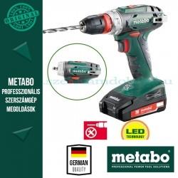 Metabo BS 18 Quick Akkus fúró-csavarozó