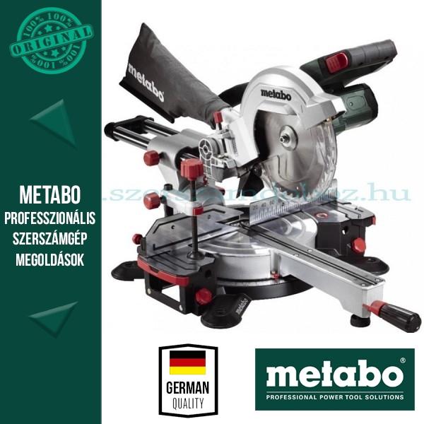 Metabo KGS 18 LTX 216 Gérfûrész Alapgép (kihúzható)