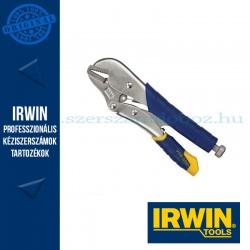 """IRWIN Original Egyenes pofás önzáró fogó - gyorskioldású 10R 10""""/250 mm"""