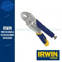 IRWIN Önzáró fogó ívelt pofával és huzalvágóval 7WR, 7´´/175mm