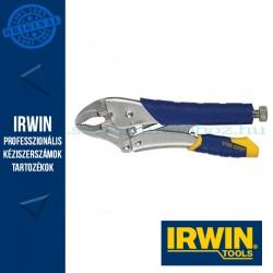 IRWIN Önzáró fogó ívelt pofával és huzalvágóval 5WR, 5´´/125mm