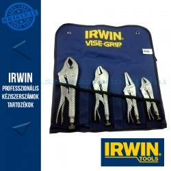 IRWIN önzáró fogókészlet - 4db (10CR, 7R, 6LN, 5WR) + táska