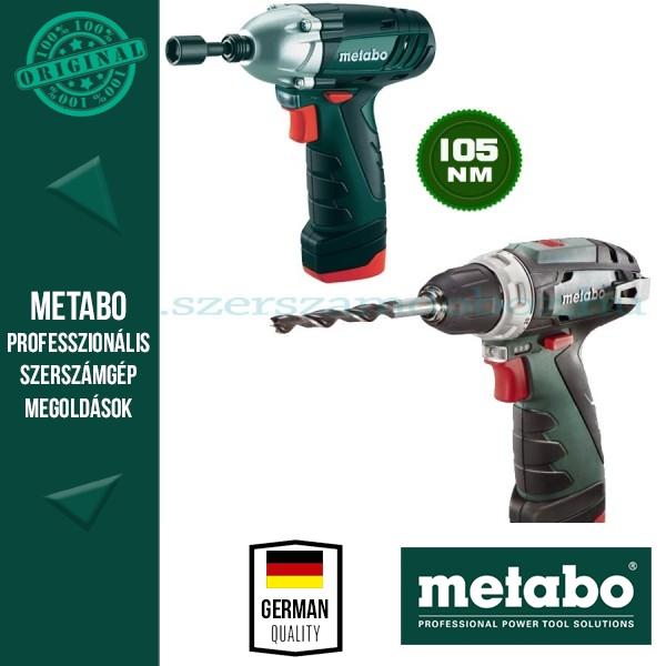 Metabo Combo Set 2.1 10,8 V Quick Pro Akkus Combo készlet