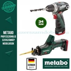 Metabo Combo Set 2.2 10,8 V Quick Pro Akkus Combo készlet