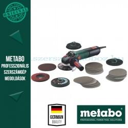 Metabo WEV 15-125 Quick Inox Sarokcsiszoló készlet