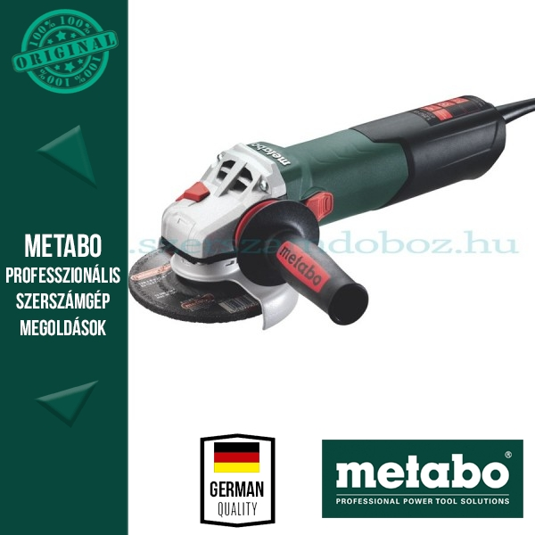 Metabo WA 12-125 Quick Sarokcsiszoló