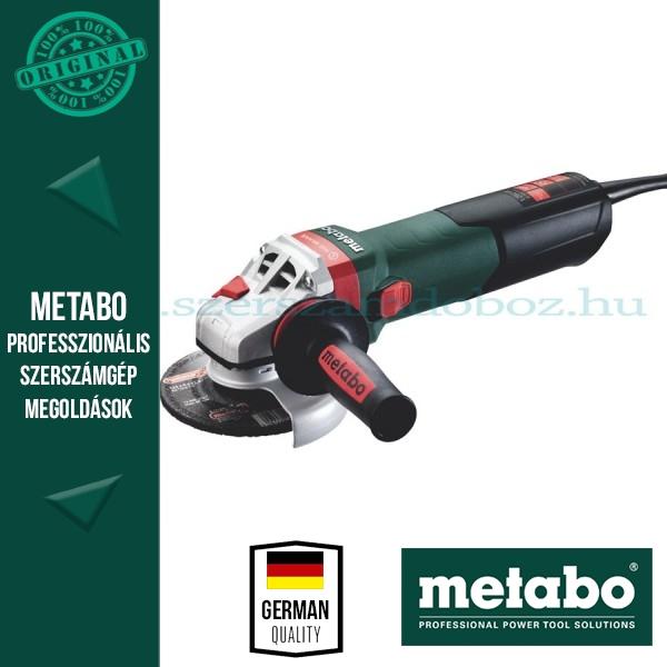 Metabo WBA 12-125 Quick Sarokcsiszoló