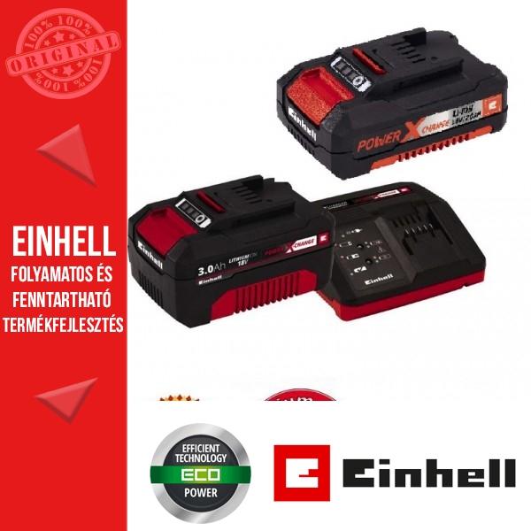 Einhell 18V PXC Starter Kit 1x3,0Ah+1x2,0Ah  Akkumulátor + Töltő