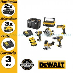 DEWALT DCK500P3T-QW 5 gépes akkus erőcsomag