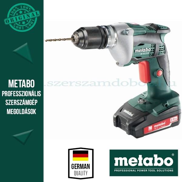 Metabo BE 18 LTX 6 Akkus fúrógép