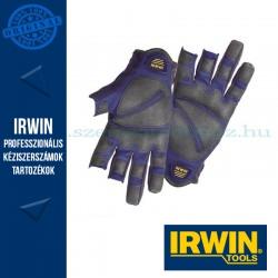 IRWIN Védőkesztyűk asztalosok részére, L