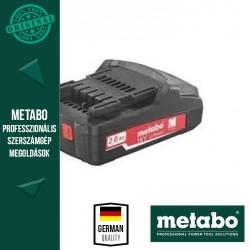Metabo 18 V Li-ion 2.0Ah Akkumulátor