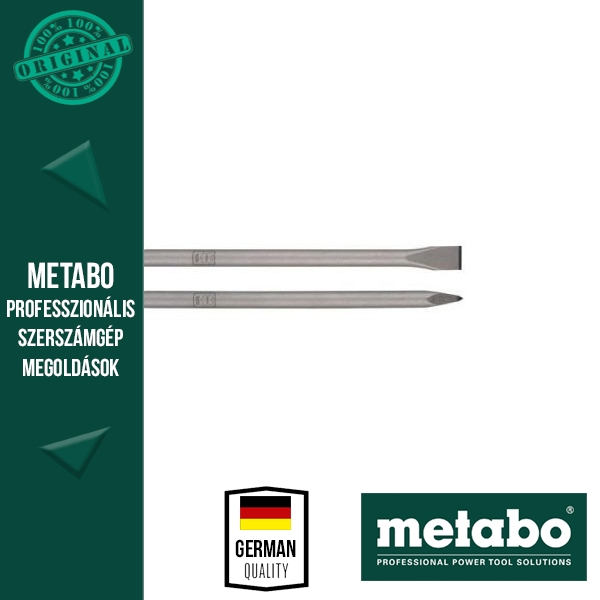 Metabo SDS-Max vésőkészlet, 2 részes