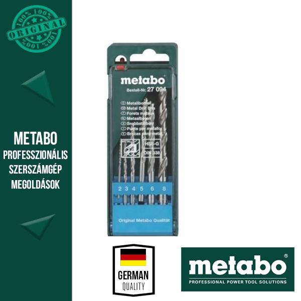 Metabo HSS-Co csigafúró 6 darabos