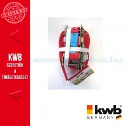 KWB PROFI kampós rakományrözítő heveder 35 mm x 6 m