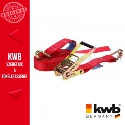 KWB PROFI minősített kampós rakományrözítő heveder 50 mm x 8 m