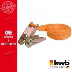 KWB PROFI rakományrözítő heveder 25 mm x 4.5 m