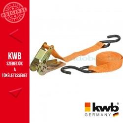 KWB PROFI kampós rakományrözítő heveder 25 mm x 3.5 m
