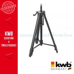 KWB PROFI tripod állvány kamera és lézer eszközökhöz 550-1540 mm
