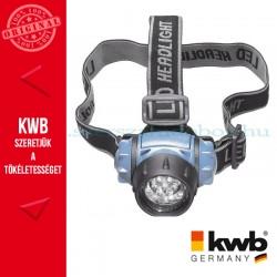 KWB PROFI LED fejlámpa klt.3 db