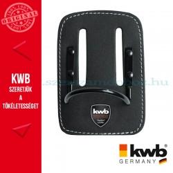 KWB PROFI fekete bőr fix kalapács tartó