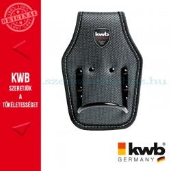 KWB PROFI fekete-ezüst gyöngyvászon fix kalapács tartó
